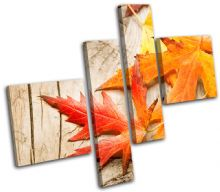 Autumn Leaves Floral - 13-1064(00B)-MP02-LO